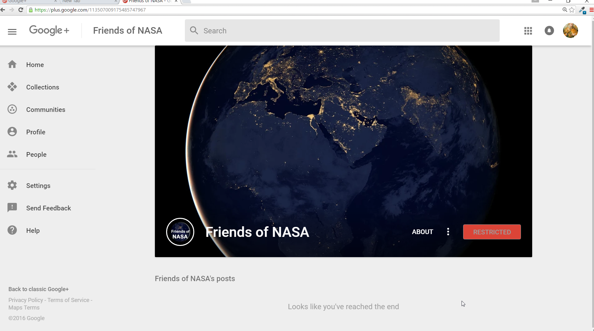 Friends of NASA