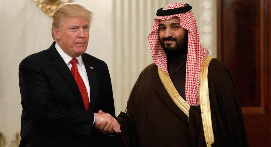 Saudis, Donald Trump, Syria